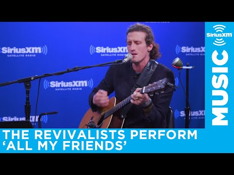The Revivalists perform All My Friends from upcoming album Take Good Care // SiriusXM JamON