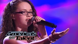 "Mara Justine: Young Girl Belts Out ""Unconditionally"" Katy Perry Cover - America"