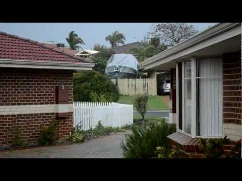 Pre-severe weather 3 September 2012 Perth