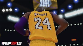NBA 2K19 MyTEAM: Kobe 20th Anniversary MyTEAM Pack