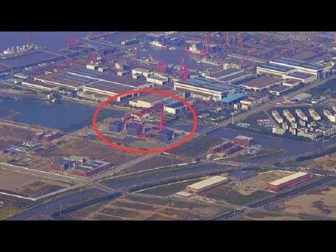 江南船厂再传喜报,疑似003航母3大分段现身,距离成型不远了?