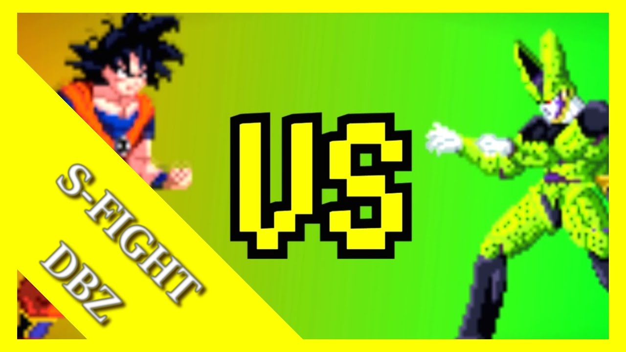 Z Fight Goku Vs Cell Sprite Animation Youtube