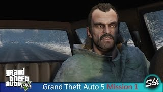 GTA 5 Mission 1 Prologue Gameplay PC Walkthrough No Commentary