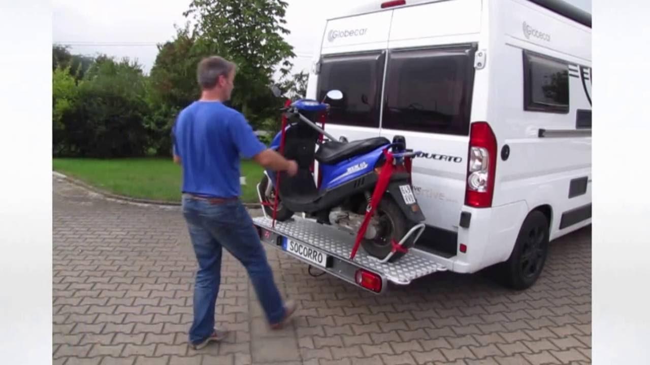 Rollerträger Motorradträger Socorro A9 Fiat Kastenwagen Reisemobil