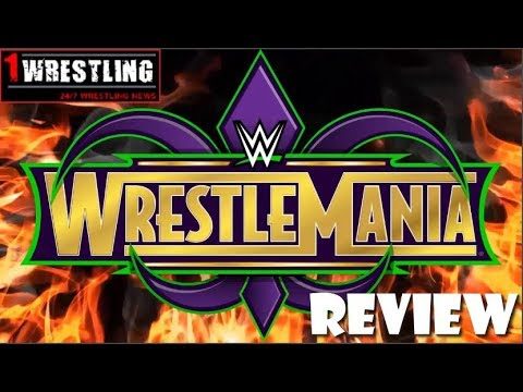 WRESTLEMANIA 34 REVIEW, RECAP & RESULTS: THE IDENTITY OF NICHOLAS REVEALED!