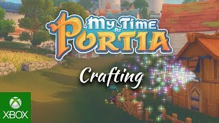 My Time At Portia - Crafting Trailer