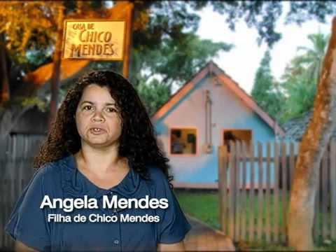 Angela Mendes, Filha De Chico Mendes