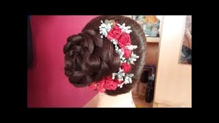 Latest New Wedding Hairstyle for Bridal#Traditional Asian Bridal Hair#Hairstyles for wedding/party