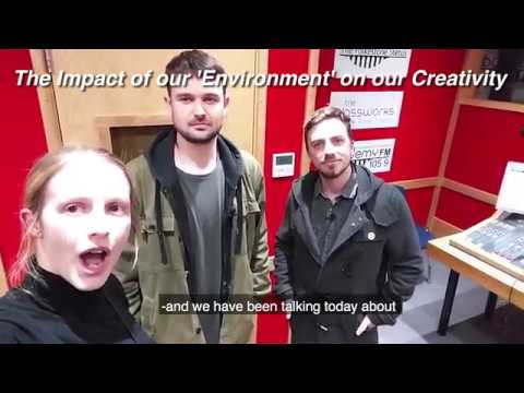 How does environment impact creativity? The BIG IDEAS Show with artists Sam Capell and Dave Boughton