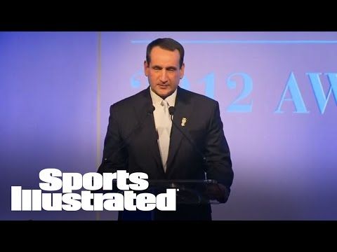 2012 Sports Illustrated Sportsman of the Year: Coach K speech | Sports Illustrated