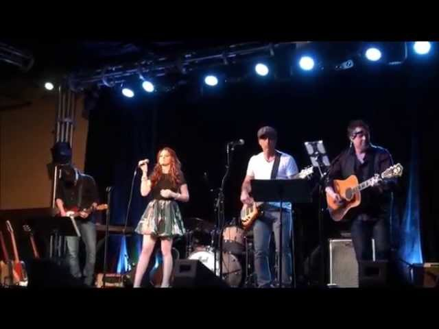 Courtney at 3rd & Lindsley with Band