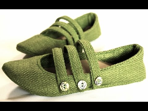 How To Make Shoes Using A Sewing Machine- Step By Step