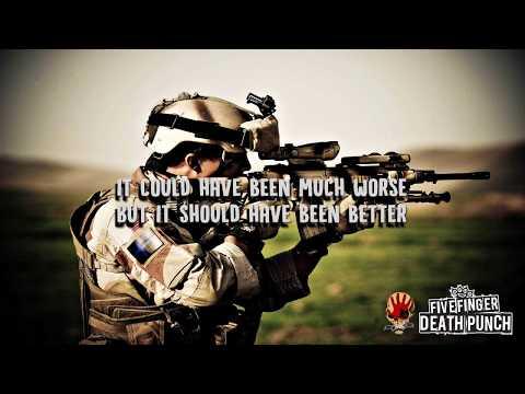 Five Finger Death Punch - M.I.N.E (End This Way) (Lyrics)