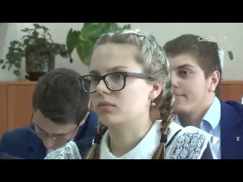 выпускной 11 а класса, школы № 15, г. Славгород, 2018 год