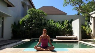 FREE 60 Minute Intermediate Hip Opening Vinyasa Flow with Hana Lukac