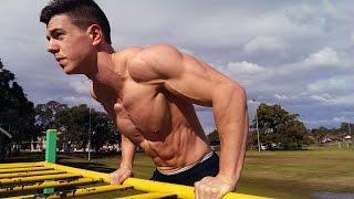 Muscle Up Drop Set Workout