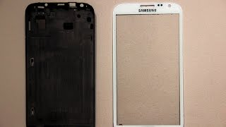 Separate Digitizer from LCD / Touch in Samsung Note Mobiles