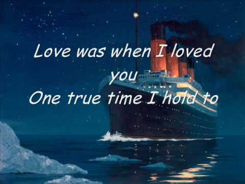 Karaoke - My heart will go on (Titanic)