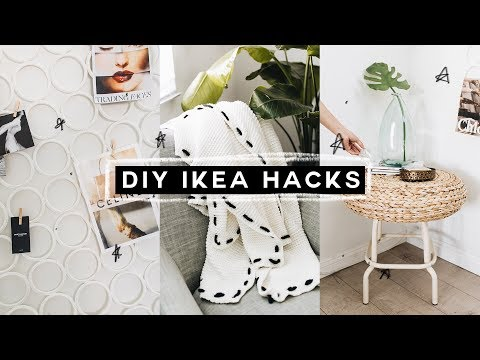 DIY IKEA HACKS - Super Affordable, Minimal + EASY! (2018) // Lone Fox
