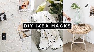 DIY IKEA HACKS - Super Affordable, Minimal + EASY! (2018) // Lone Fox