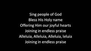 play before the Lord (with lyrics)