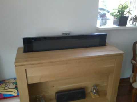 Automatisch TV meubel - YouTube