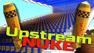 Upstream Wack Nuke vs Minecraft Water Boat Conspiracy