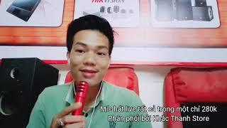Test mic hát live c7 tất cả trong một chỉ 280k phân phối bởi Khắc Thanh Store