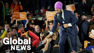 Canada Election: Jagmeet Singh attends UpRiSingh rally in Penticton, B.C.