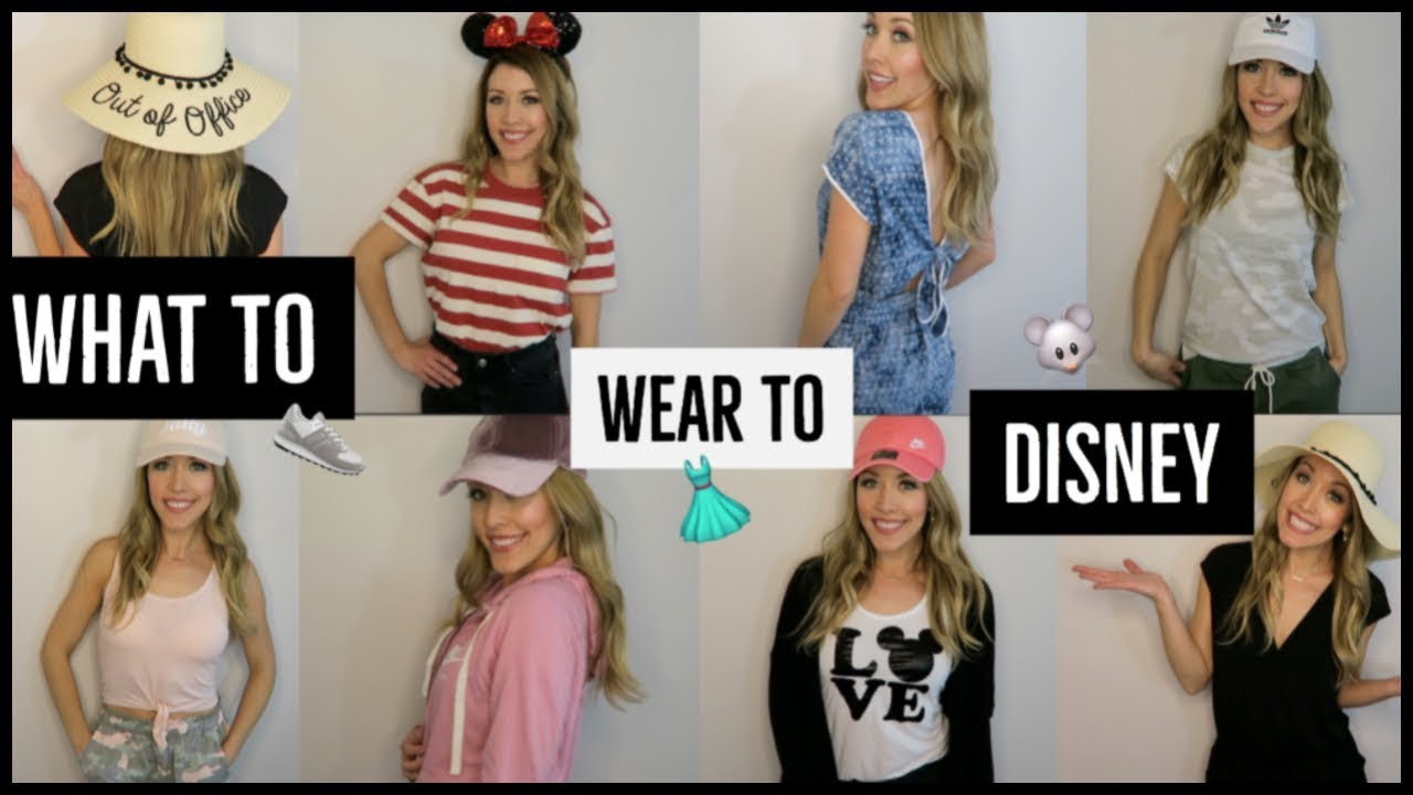 d01a289abce2 WHAT TO WEAR TO DISNEY 🐭