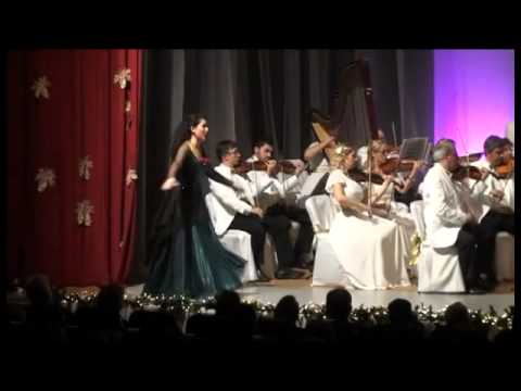 Eylem Demirhan Duru. Christmas Concert with İzmir State Opera and Ballet Orchestra