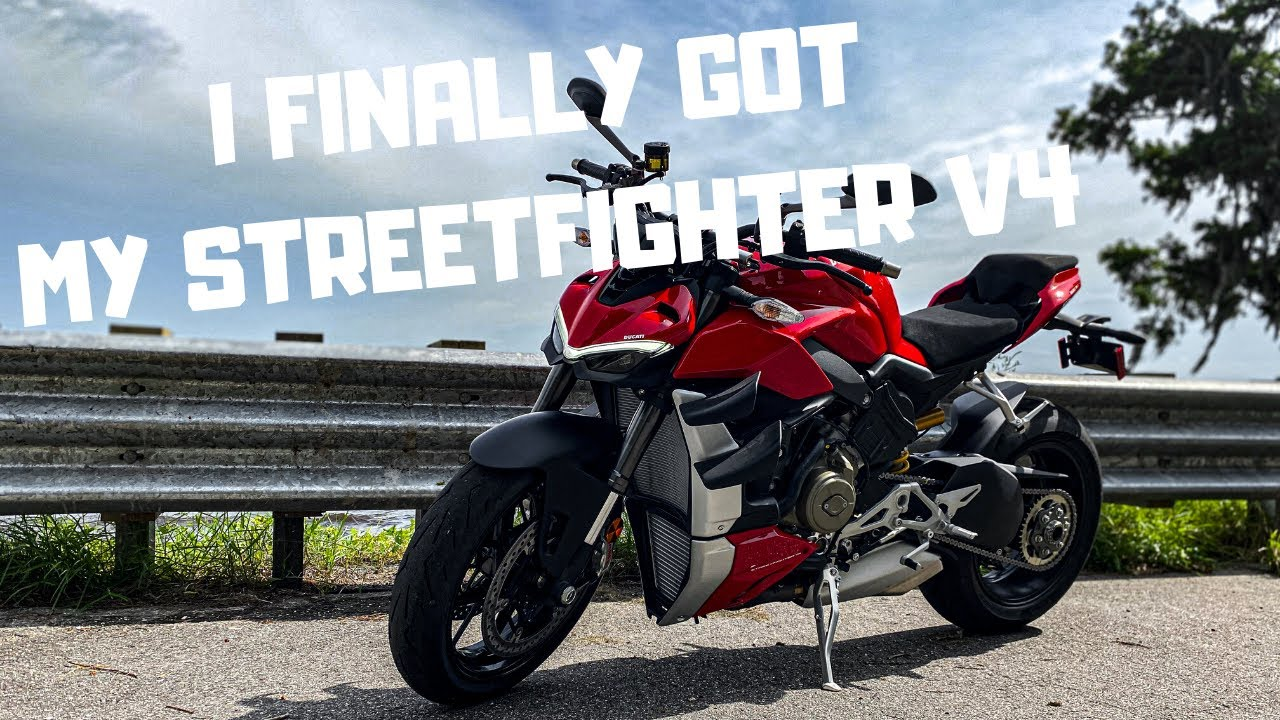 First Ride on My 2020 Ducati Streetfighter V4 | Review, Impression and all the Smiles