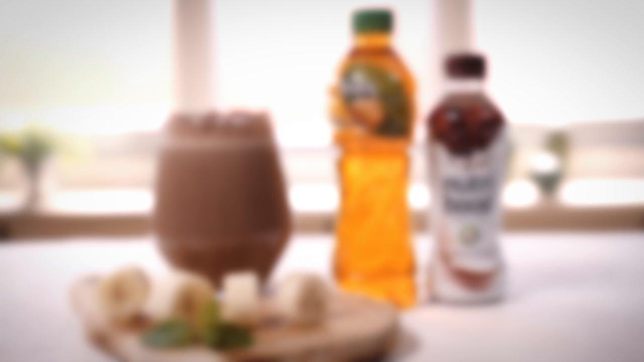 Banana Chocolate Smoothie, Rasanya ngeblend banget.