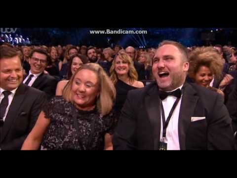 Ant and Dec at the 2017 NTAs