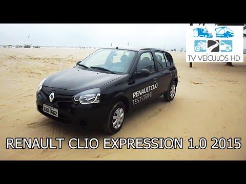 Avaliação 2015 Renault Clio Expression 1.0 16V Hi-Power (HD)