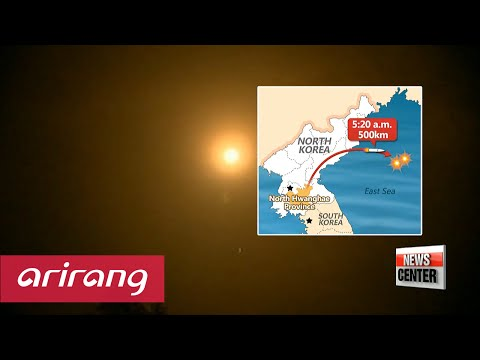 North Korea fires two short range missiles into East Sea