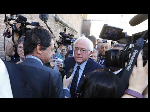 "Bernie Sanders: ""I Was Stunned"" by Corporate Media Blackout During Democratic Primary"