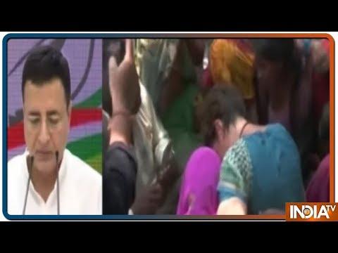 Sonbhadra Tragedy: UP Politics Heats up as Randeep Surjewala Slams Yogi Govt for 'Jungle Raj'