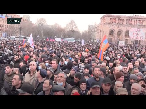 LIVE: Rally in support of PM Pashinyan takes place in Yerevan