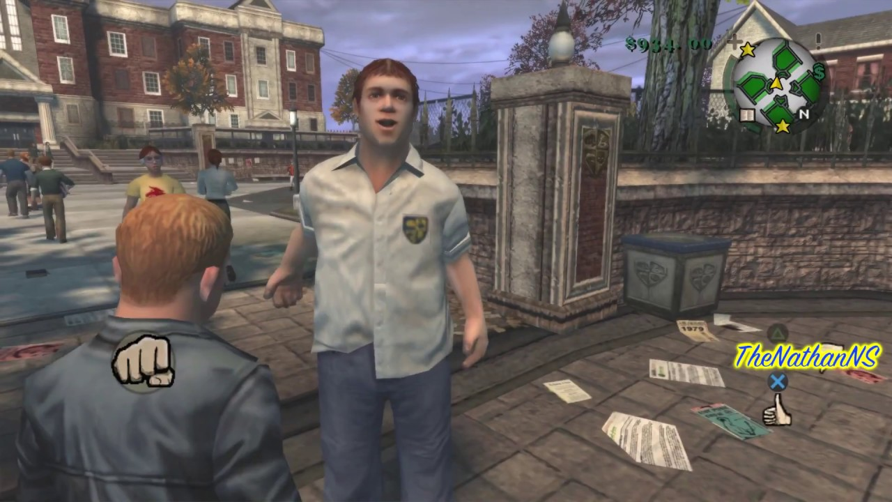 Bully Mods - PS2 Texture Overhaul For PC (Review)