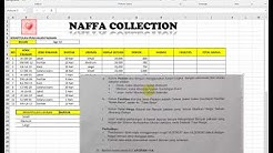 Kisi-kisi Soal CLCP Excel Naffa Collection