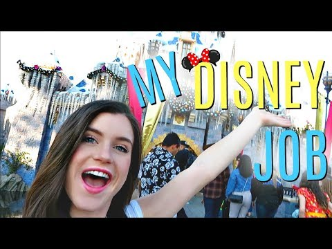 Day In My Life: Working At Disneyland!