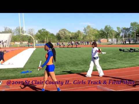 St Clair County IL Girls Track And Field @2017