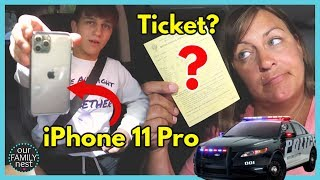Buying the iPhone 11 Pro & Pulled over by the Police!