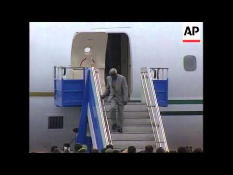 ZAIRE: KINSHASA: PRESIDENT MOBUTU MAY HAVE ARRIVED BY PLANE UPDATE