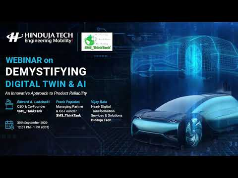 Webinar on Demystifying Digital Twin & AI – An Innovative approach to Product Reliability