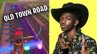 Fortnite Old Town Road Music Blocks CODE - Lil Nas X Billy Ray Cyrus Block Music (MAP CODE)
