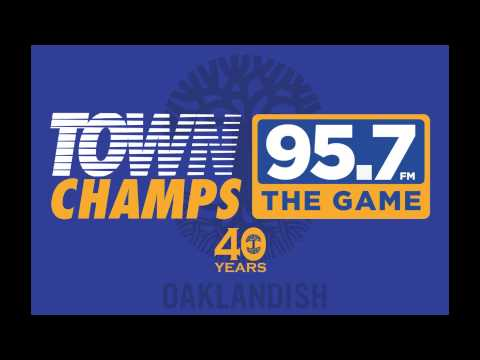 95.7 The Game, Warriors Parade Live Broadcast at Oaklandish