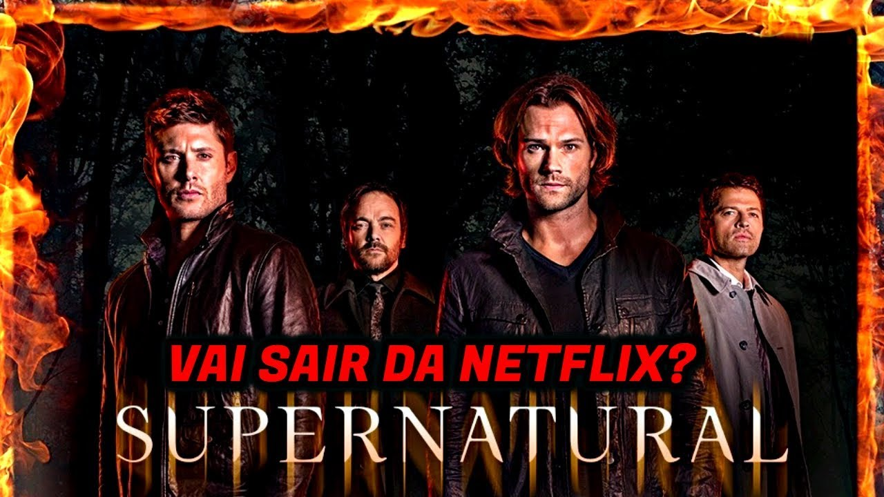 supernatural removed from netflix