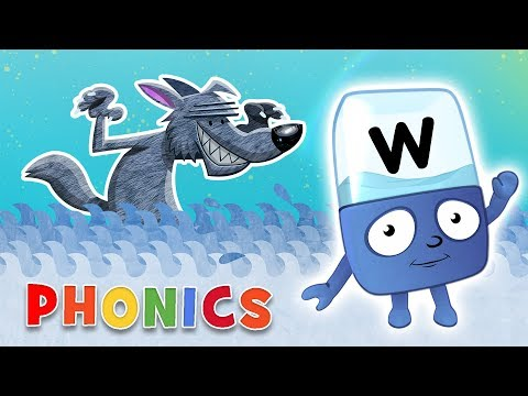 Phonics  Learn to Read  The Letter W